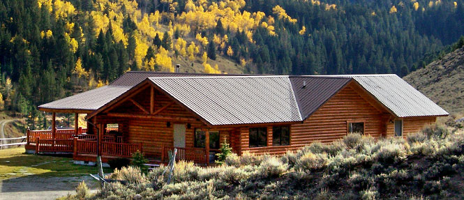Saddlehorn lodge wilderness edge for Log cabins in yellowstone national park